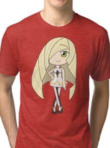 Pokemon Sun/Moon Lusamine Tri-blend T-Shirt