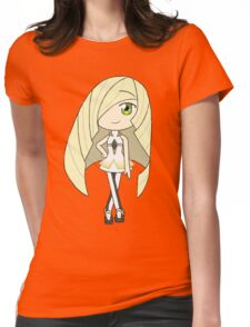 Pokemon Sun/Moon Lusamine Womens Fitted T-Shirt