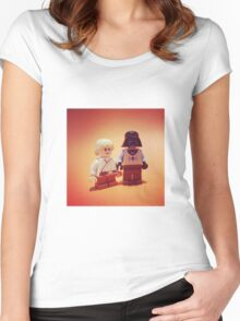 """""""Bring-Your-Vader-to-School-Day"""" Women's Fitted Scoop T-Shirt"""