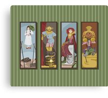 Return to Haunted Mansion Canvas Print