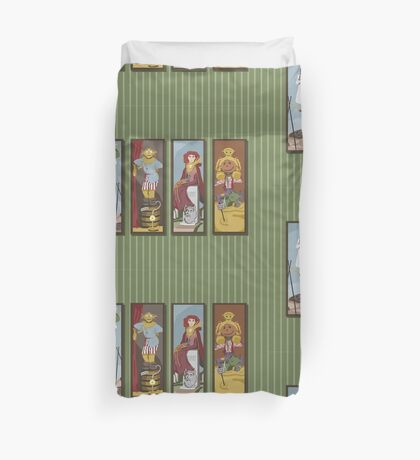 Return to Haunted Mansion Duvet Cover