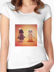 "Empire Fried Chicken ""EFC"" Women's Fitted Scoop T-Shirt"