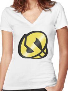Team Skull Guzma Women's Fitted V-Neck T-Shirt