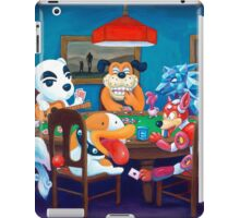Video Game Dogs Playing Poker iPad Case/Skin