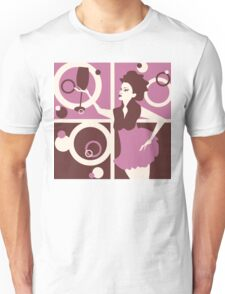 retro womens  Unisex T-Shirt