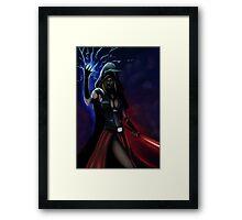 Sith Cosplay Framed Print