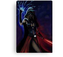 Sith Cosplay Canvas Print