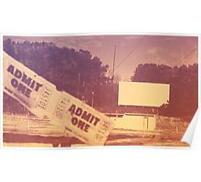 Drive-in Theater by Jan Marvin Poster