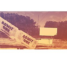 Drive-in Theater by Jan Marvin Photographic Print