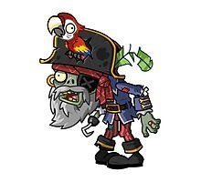 Pirate Captain Zombie Photographic Print