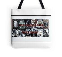 Don't judge a book by its movie Tote Bag