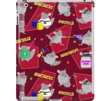 NinChilla Nunchucks In Cranberry iPad Case/Skin