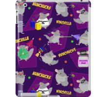 NinChilla Nunchucks in Grape iPad Case/Skin