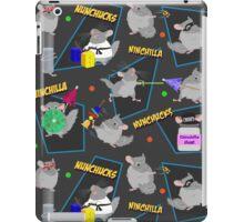 NinChilla Nunchucks In Ash Grey iPad Case/Skin