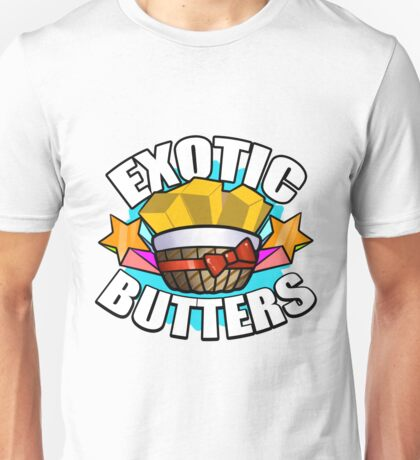 EXOTIC BUTTERS! Unisex T-Shirt