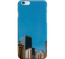 Buildings with blue sky iPhone Case/Skin