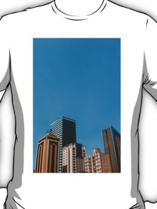 Buildings with blue sky T-Shirt