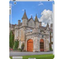 Balmoral Castle iPad Case/Skin