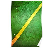 Green and Yellow Poster