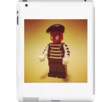 Spider-Mime iPad Case/Skin