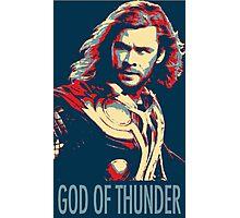 God of Thunder Photographic Print