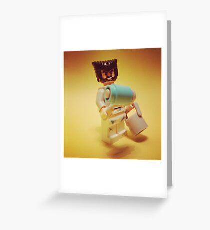 Wolverine Painter Greeting Card