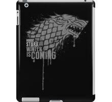 Stark House Game of Thrones Shirt iPad Case/Skin