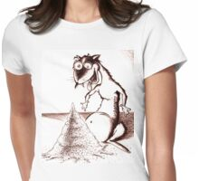 Speed Ferret Womens Fitted T-Shirt