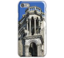 Towertop of the cathedral in Laon iPhone Case/Skin