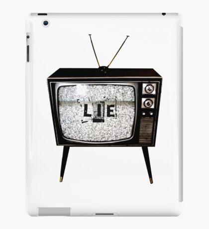 TV Lie iPad Case/Skin
