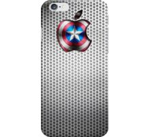 Steel Captain America Iphone iPhone Case/Skin