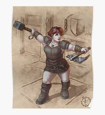 Dwarf Rogue Poster