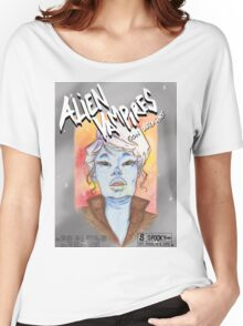 Alien Vampires from outer space! Women's Relaxed Fit T-Shirt