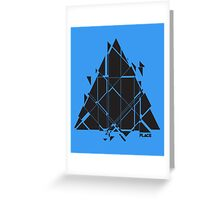 PLACE Sci-Fi Triangle Greeting Card