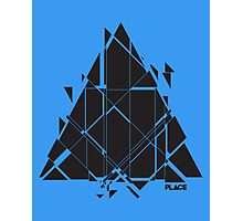 PLACE Sci-Fi Triangle Photographic Print