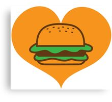 Hamburger lover Canvas Print