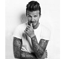 David Beckham iPhone Case by savemetonight