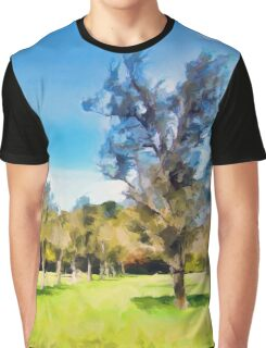 Trees in a Row Graphic T-Shirt