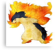 Typhlosion- The Volcano Pokemon Canvas Print