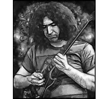 "Jerry Garcia - ""Young Dark Star"" 1967 Grateful Dead Photographic Print"