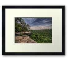 The South Rim of Savage Gulf Framed Print