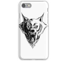 Werewolf Head iPhone Case/Skin