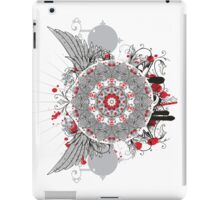 retro pattern kaleidoscope with wings iPad Case/Skin
