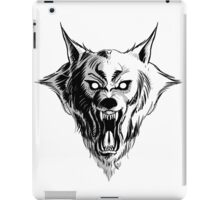 Werewolf Head iPad Case/Skin