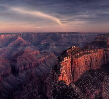 Dusk Along the North Rim by James Hoffman