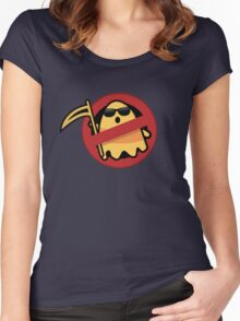 awesome halloween design Women's Fitted Scoop T-Shirt