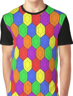 Rainbow of Rupees Graphic T-Shirt
