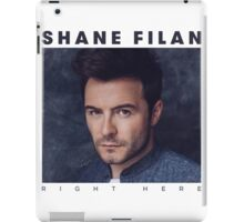 Shane Filan - Right Here iPad Case/Skin
