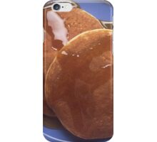 Pancakes with Maple Syrup iPhone Case/Skin