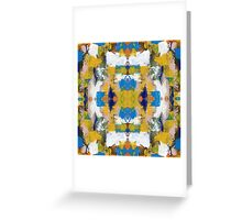 Abstract Expression #11 by Michael Moffa Greeting Card